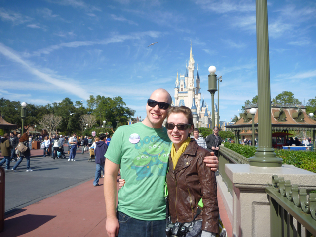 Casey and Jessica Magic Kingdom