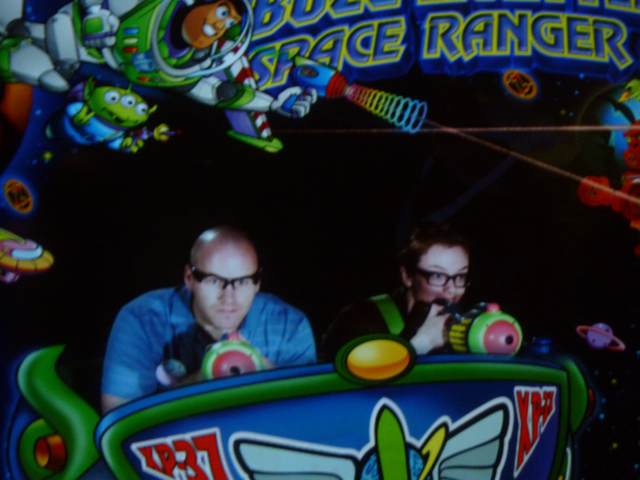 Casey and Jessica Buzz Lightyear