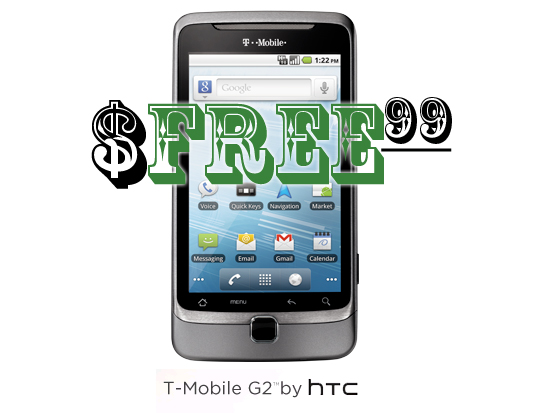 HTC G2 - For Free