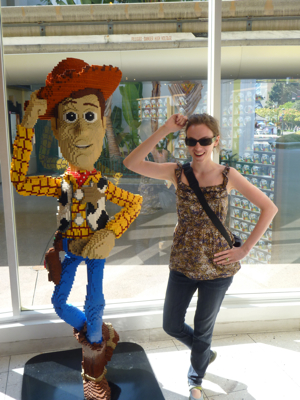 Jessica with Woody