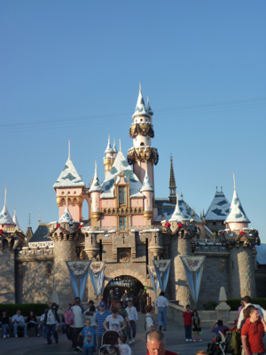 Disney Land Castle