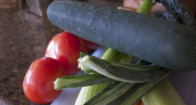 Vegetables for Juice Fast - Casey Friday
