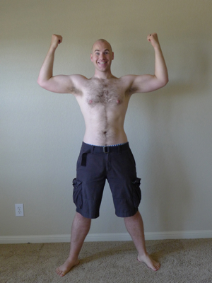 Casey Friday P90X Lifestyle Day 17 - Front