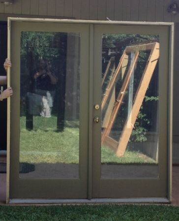craigslist French Doors with Glass