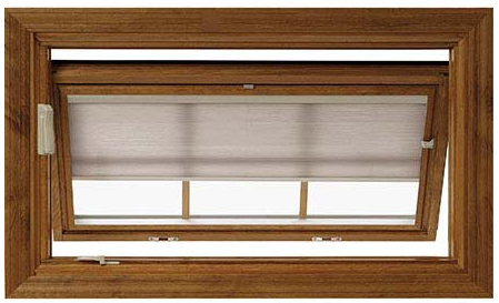 Pella Awning Designer Windows - Snap-in Shades