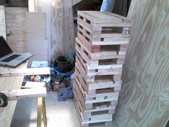 Home made Cribbing Blocks - The Rich Life