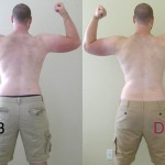 P90X Day 60 Back Flex Comparison
