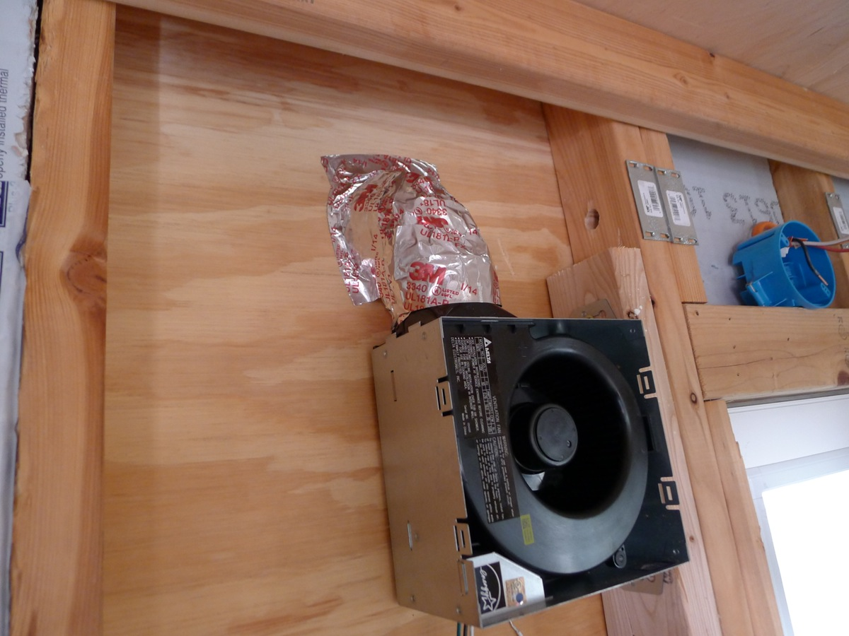 How To Install A Bathroom Vent Through The Roof Extraordinary Installing A Bathroom Exhaust