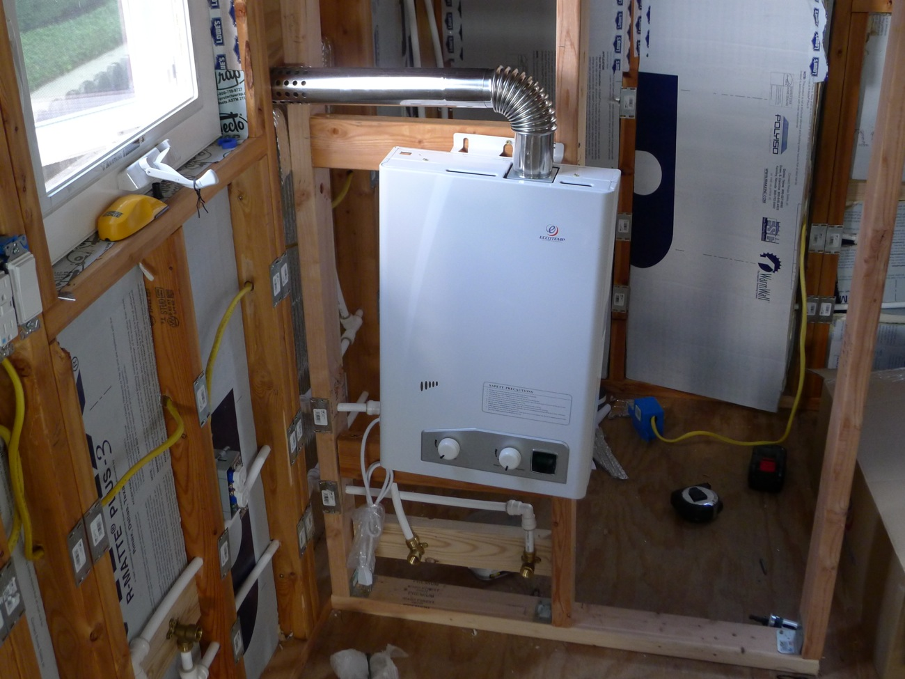 Tiny House Water Heater Vent Installation caseyfridaycom