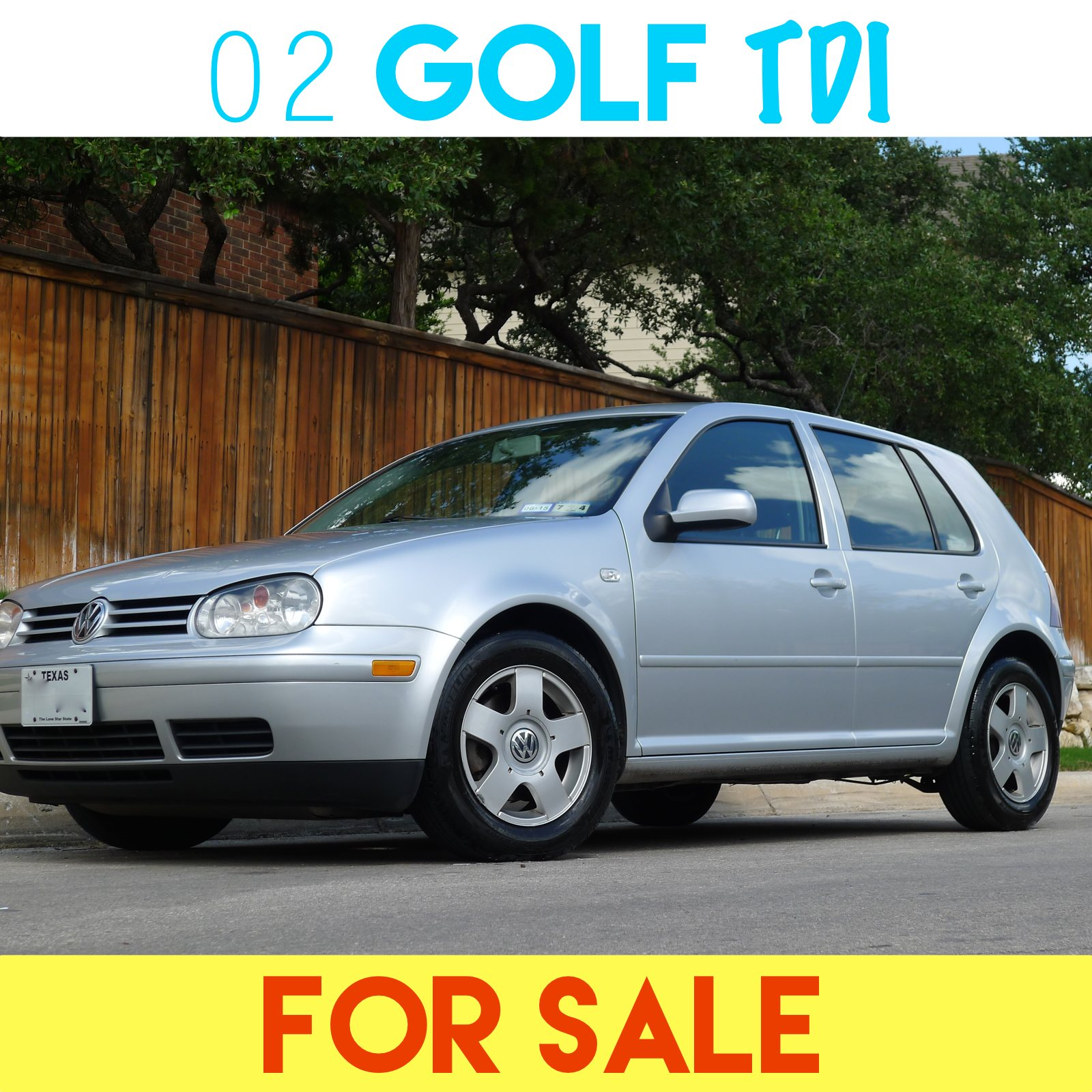 2002 VW Golf TDI 5-speed For Sale