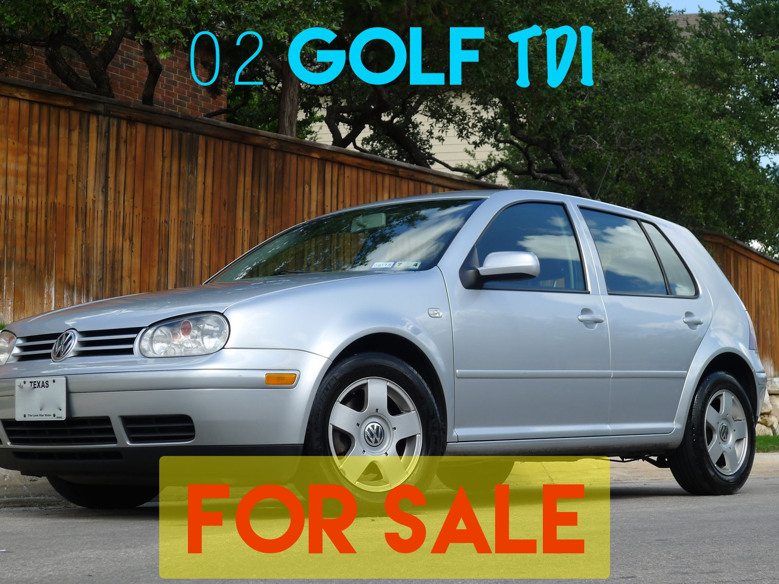 02 Golf TDI For Sale - San Antonio TX