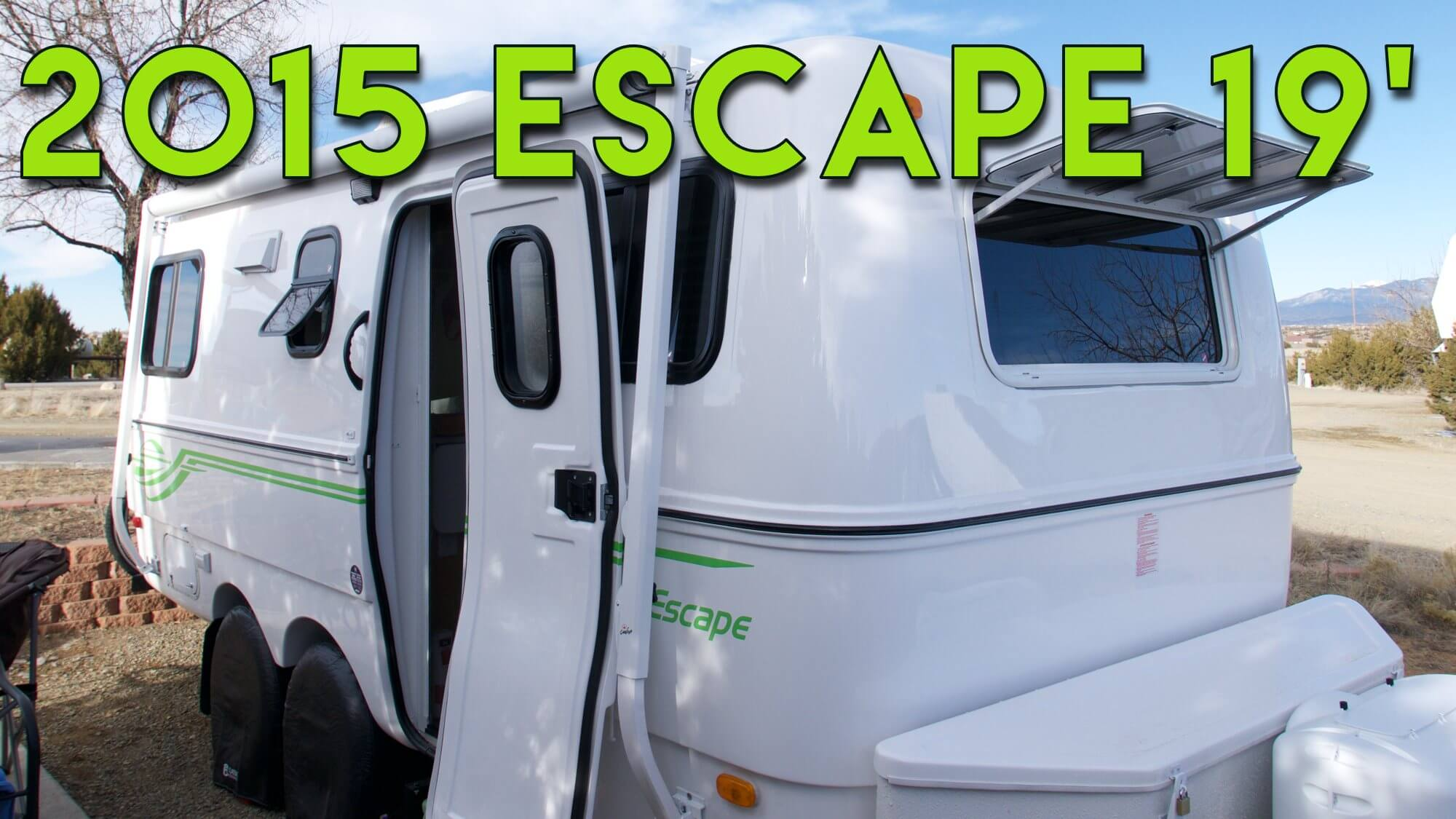 2015 Escape 19 Tour - Full Time RV Travel Trailer