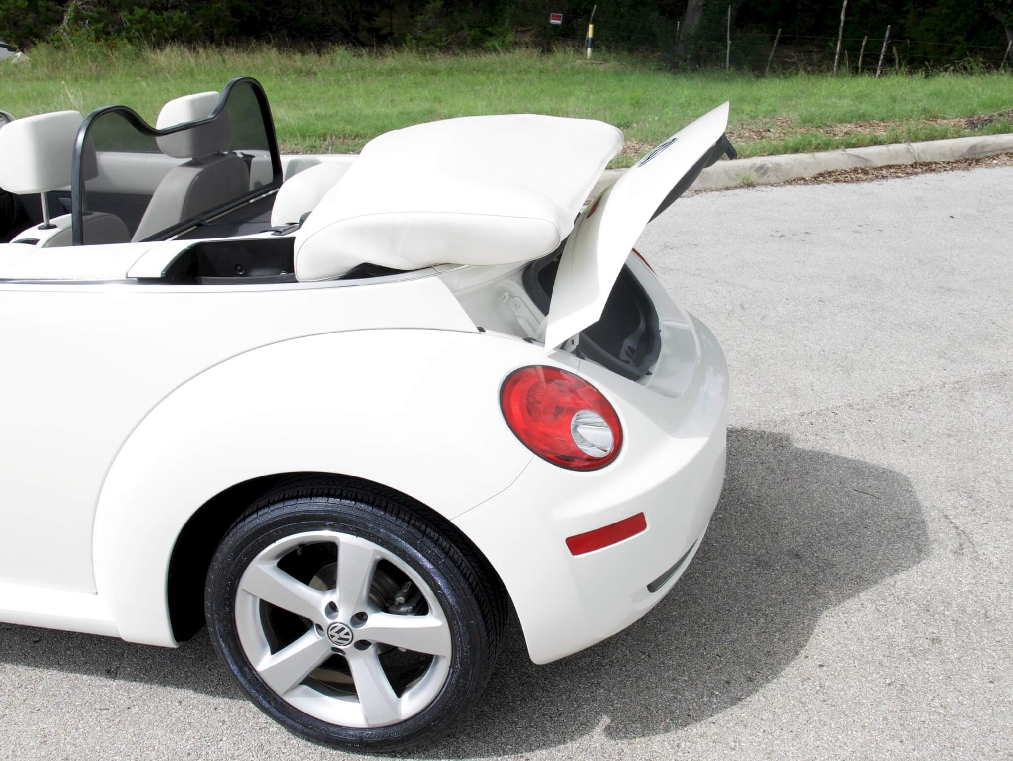 Triple White VW Beetle Convertible – SOLD – caseyfriday.com