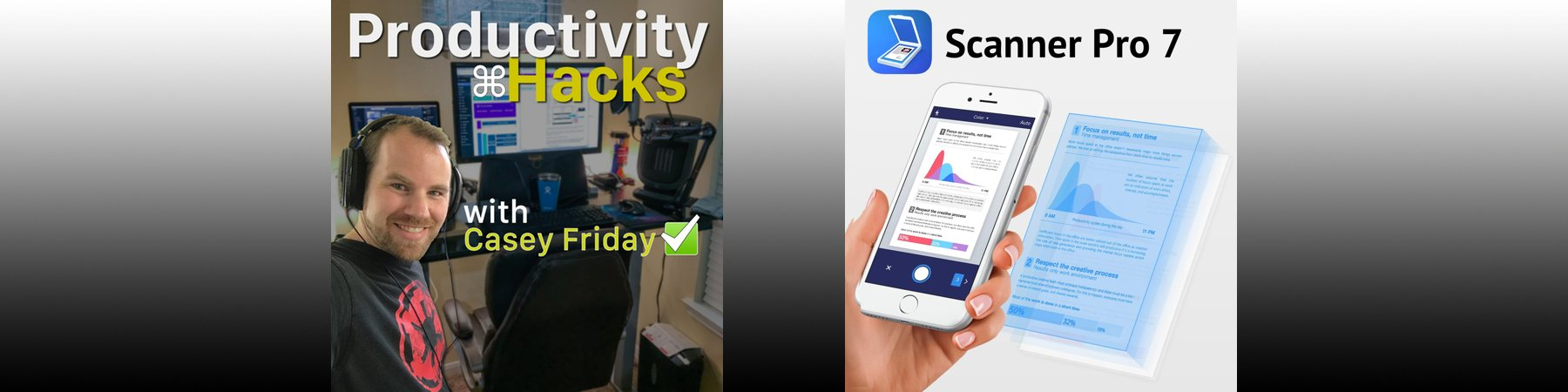 Productivity Hacks - Episode 1 - ScannerPro 7